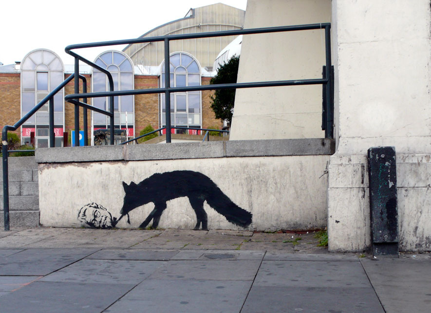 banksy_kentuckyfox