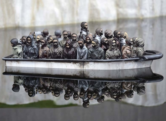 Banksy-part-of-an-installation-for-the-Dismaland-Bemusement-Park-via-scmp-com
