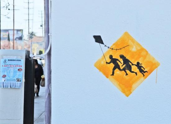Banksy_LA_Kite