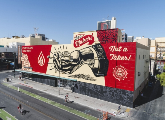 Shepard-Fairey-drone-life-is-beautiful-street-art-festival-downtown-las-vegas-photo-credit-justkids