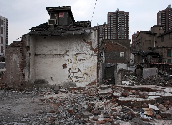 Vhils_in_Shanghai_-_2012_-_courtesy_18_Gallery_Magda_Danysz_(12)